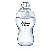 Closer to Nature 340 ml Clear Feeding Bottle
