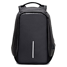 Business Casual Antitheft Fashion Computer Backpack - Black