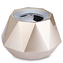 S - 609 Mini Diamond Design Wireless Bluetooth 3.0 + EDR Stereo Speaker With Built-in Microphone