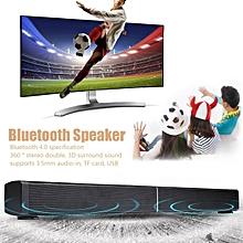 40W Bluetooth Sound Bar Soundbar Speaker Home TV Echo-wall Wall-mounted Audio RC WWD