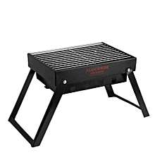 Alocs Outdoor Picnic BBQ Oven Charcoal Furnace Folding Barbecue Grill Portable Charbroiler Camping Hiking