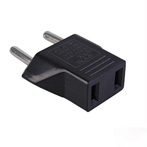 Generic Universal Uk Us Europe Travel Adapter Wall Plug Converter Black Best Price Jumia Kenya