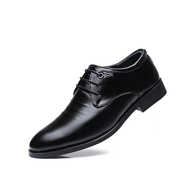 Men Business Casual Leather Shoes Formal Office
