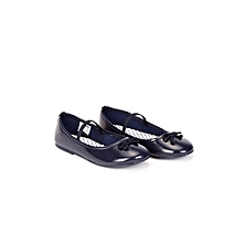 Navy Blue Fashionable Shoes