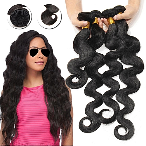 Bundles Virgin Remy Hair Body Wave Human Weave Extensions 8inch