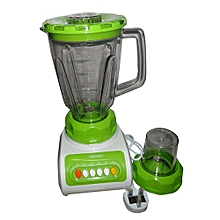 Blender with Grinder - 1.5 Litres - 350W - Green & White