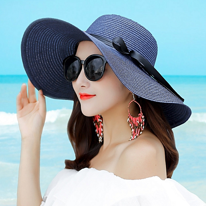 7e44bbd9f4b4a ... 1Big butterfly-purpleThe sun protection Han Ban Xin s style of straw  hat sons and daughters