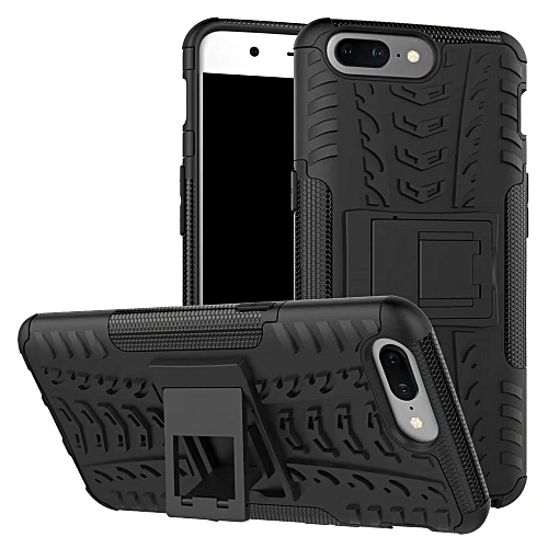 buy online b88a5 a0b52 OnePlus5 Armor Phone Case, Heavy Duty Shockproof Armor Case For OnePlus 5  A5000 1+5 Back Case Cover (Black)