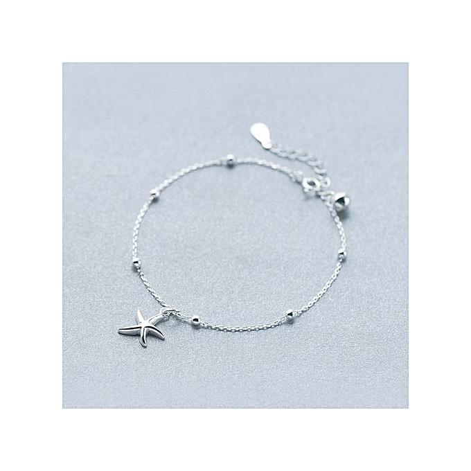Ocean Starfish 925 Sterling Silver Foot Anklet