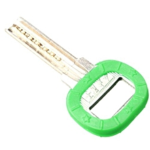 Hollow Silicone Key Cap Covers Topper Keyring With Bly Braille Grass Green