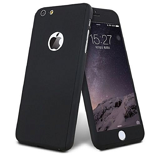 best service 39d85 e2cf5 Iphone 7 360° Full Protective Case - Black