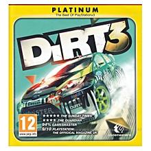 PS3 Game Dirt 3 Platinum