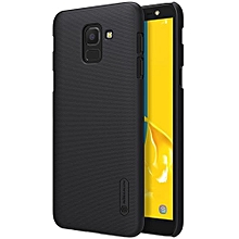NILLKIN Frosted Concave-convex Texture PC Case For Galaxy J6 (2018) (Black)