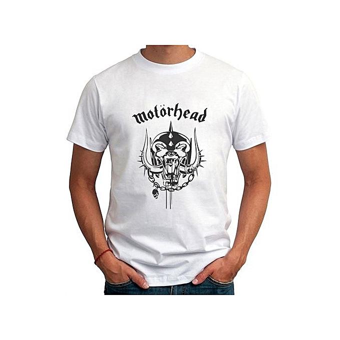 2017 Fashion Men Clothing Funny Pattern Motorhead Printed Tee Shirts Custom  Made Men Short Sleeve T eaec99536