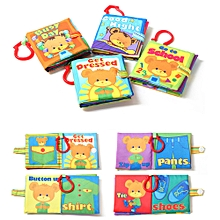 New Cloth Book Baby Kids Boys Girls Intelligence Development Educational Toys