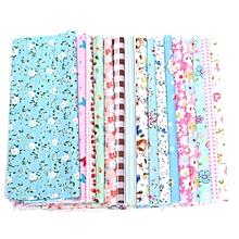 16 X Fabric Bundles Fat Quarters Polycotton Material Florals Gingham Spots Craft