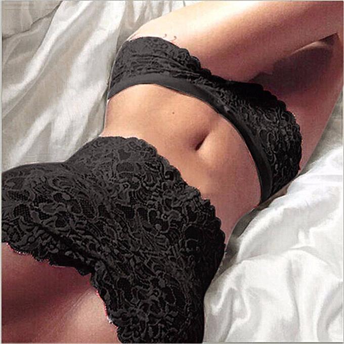ZANZEA High Quality Sexy Women Transp Arent Lingeries Lace Crop Top S  Intimates Top Briefs Underw 8ec3ccab994