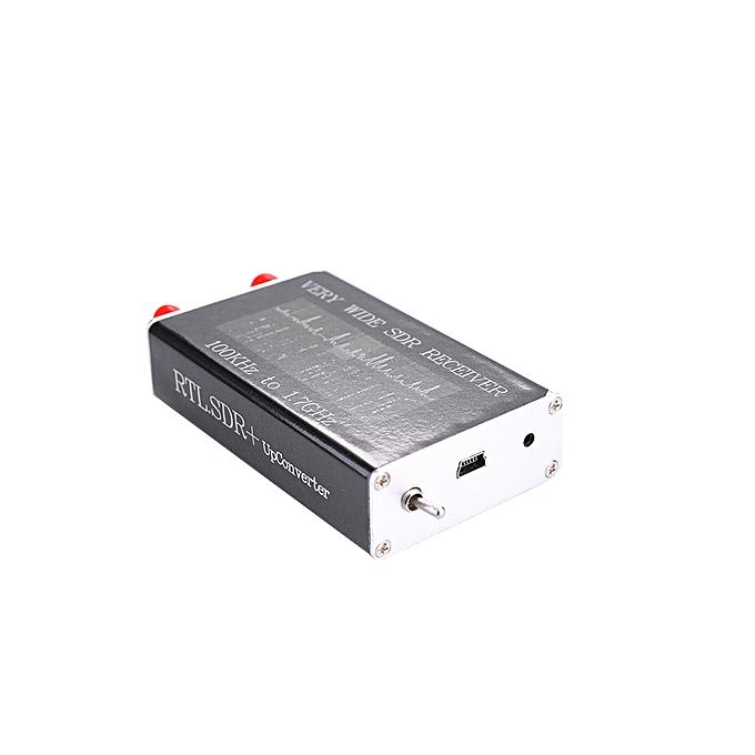 RTL-SDR Upconverter USB Tuner Receiver RTL2832U+R820T Tu 100KHz-1 7GHz Full  Band