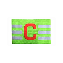 Nylon Football Soccer Adjustable Elastic Captain Armband