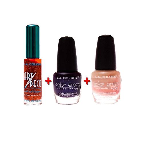 Buy La Colors Art Deco Nail Art Color Craze Nail Polish Color
