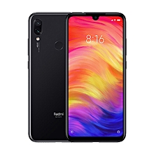 Redmi Note 7 6.3-Inch IPS LCD (4GB, 64GB ROM),Android 9.0 Pie, Dual Camera (48MP+5MP) 4G LTE Smartphone - Black