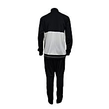 T/Suit Tiro 17 Pes/Trg Men- Bq2598/Bk0348black/White- L