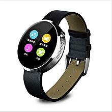 DM360 Waterproof Bluetooth Heart Rate Monitor Wristwatch Smartwatch(Silver)