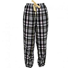 Multicolored Checked Women's Pyjamas