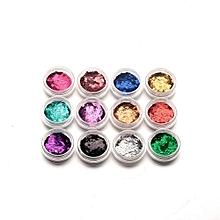 12 Colorful Bright Stars Long Rainbow Long Lasting Stars Nail GEL For Nail Art