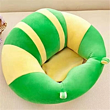 Baby Sofa Seat Learn Sit Feeding Chair Children Kids Sleeping Plush Cushion Toy # Yellow