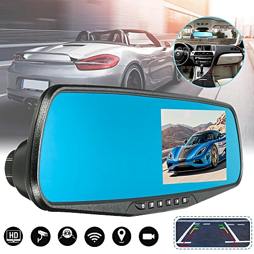 HD 1080P Car DVR Rearview Mirror Dash Cam Vehicle Camera Video Recorder US