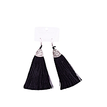 Tassel silk Earrings