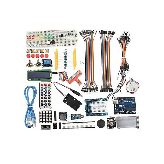 Ultimate UNO R3 Starter Kit For Arduino 1602 LCD Servo Motor Relay RTC LED
