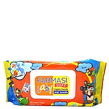 70 Baby Wet Wipes with Lid