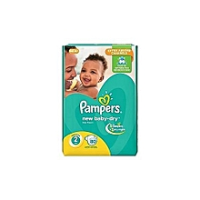 Diapers Baby Dry-Size 2-Jumbo Pack-Count 80