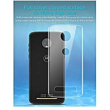 Imak 2pcs Hydrogel Film for Motorola Z3 Play Full Cover Back Screen Protector