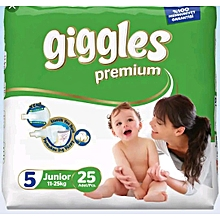 Baby Dry Diapers With Extra Protection (11-25 Kg) Size 5 (25 Count)