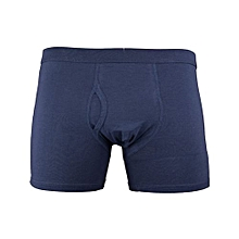 Blue Good Quality All Weather Cotton Fitting Men Boxers