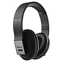 Rocka Epic Bluetooth Headphones - Black