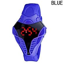 Unisex Children  Snake Head Shape Buckle Digital Wristwatch-Array