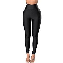 Fashion Women Skinny Slim Stretch High Waist Pencil Pants Leggings Trouser