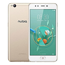 "Nubia M2 Lite - 5.5"" - 64GB - 3GB Ram - 16MP Camera - Dual Sim 4G LTE - Gold"