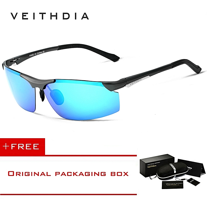 e2edc3976e VEITHDIA Aluminum Magnesium Men s Sunglasses Polarized Men Coating Mirror  Sun Glasses oculos Male Eyewear For Men