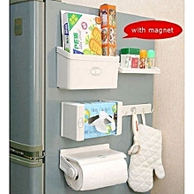 Reliable and strong 5 in 1 Magnetic Fridge Organisers