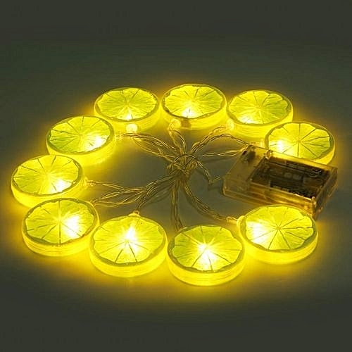 Generic Lemon Fairy Lights Starry String Indoor And Outdoor Festival Decor 1 5m 10 Led