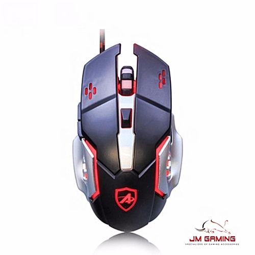 Buy Ajazz AJ110 6D LED GAMING MOUSE HOT KEY PROGRAMMABLE,BREATHING ...