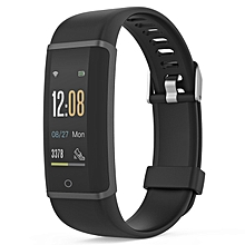 HX03F Smart Watch Bluetooth 4.2 Heart Rate Monitor Support iOS and Android-BLACK