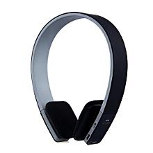 AEC BQ618 Smart Bluetooth 4.0 Headphone Wireless Earphone Headset with MIC-BLACK