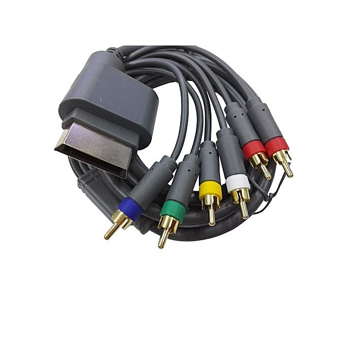 Buy Generic HD TV Component Composite Audio Video AV Cable Cord For ...