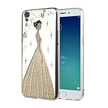 Mooncase Case For Oppo R9 Plus Bling Wedding Goddess Pattern Soft TPU Protective Case Color-3